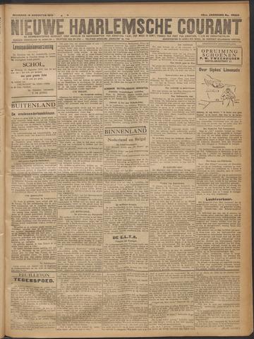 Nieuwe Haarlemsche Courant 1919-08-18