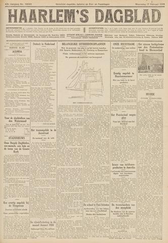 Haarlem's Dagblad 1926-02-17
