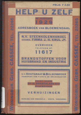Adresboeken Bloemendaal 1929