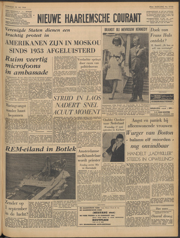 Nieuwe Haarlemsche Courant 1964-05-20