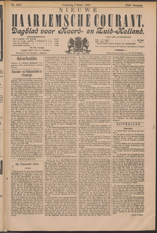 Nieuwe Haarlemsche Courant 1900-03-08