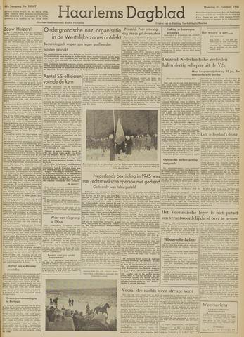 Haarlem's Dagblad 1947-02-24