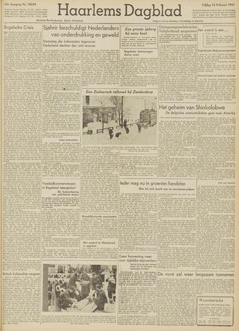 Haarlem's Dagblad 1947-02-14