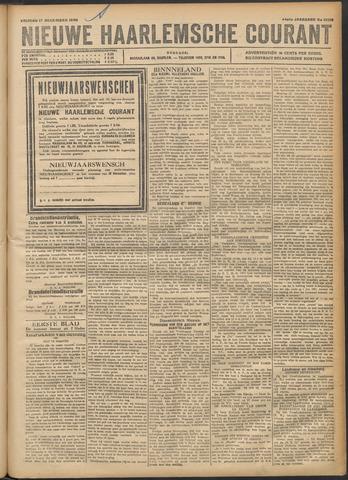 Nieuwe Haarlemsche Courant 1920-12-17