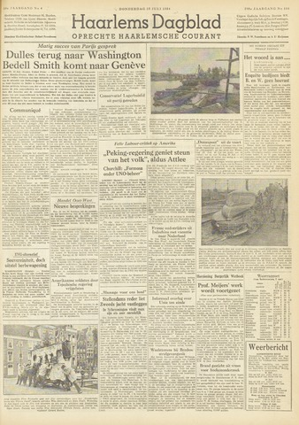 Haarlem's Dagblad 1954-07-15