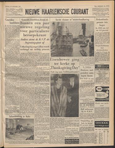 Nieuwe Haarlemsche Courant 1957-11-29