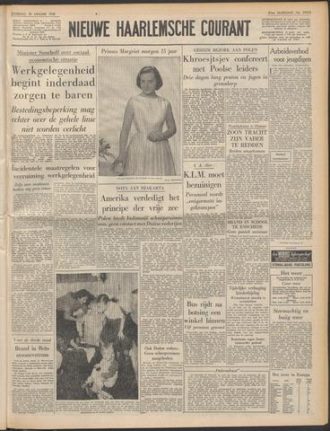 Nieuwe Haarlemsche Courant 1958-01-18