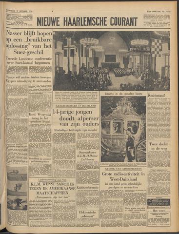 Nieuwe Haarlemsche Courant 1956-09-19
