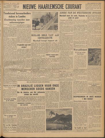 Nieuwe Haarlemsche Courant 1947-04-29
