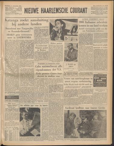 Nieuwe Haarlemsche Courant 1960-08-08