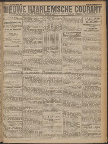 Nieuwe Haarlemsche Courant 1919-09-22