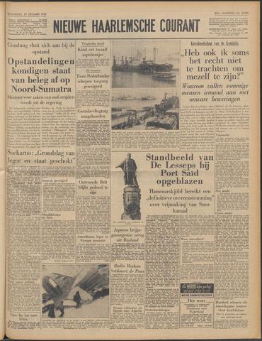 Nieuwe Haarlemsche Courant 1956-12-27
