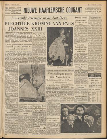 Nieuwe Haarlemsche Courant 1958-11-04