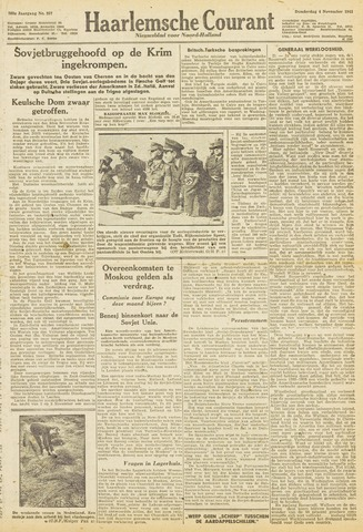 Haarlemsche Courant 1943-11-04