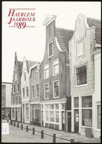 Jaarverslagen en Jaarboeken Vereniging Haerlem 1989