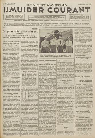 IJmuider Courant 1938-08-15