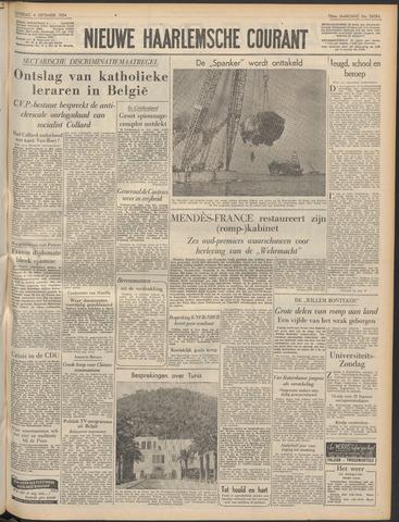 Nieuwe Haarlemsche Courant 1954-09-04
