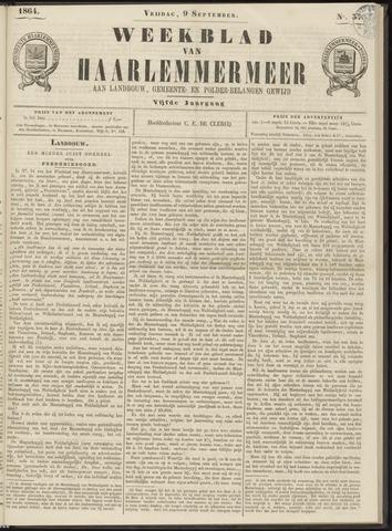 Weekblad van Haarlemmermeer 1864-09-09