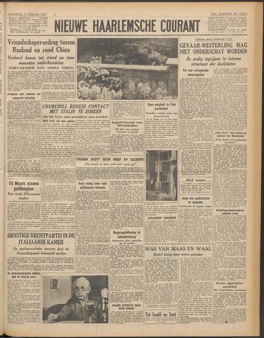 Nieuwe Haarlemsche Courant 1950-02-15