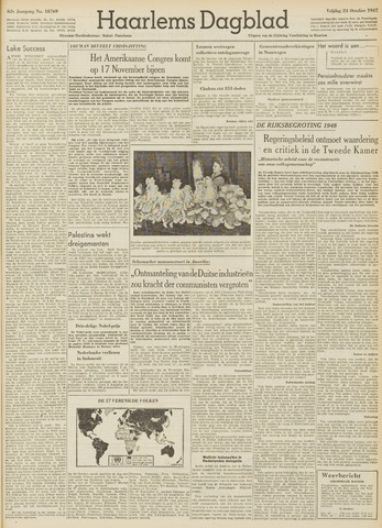 Haarlem's Dagblad 1947-10-24