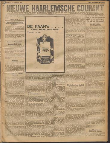 Nieuwe Haarlemsche Courant 1919-10-18