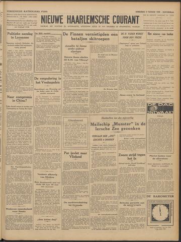 Nieuwe Haarlemsche Courant 1940-02-08