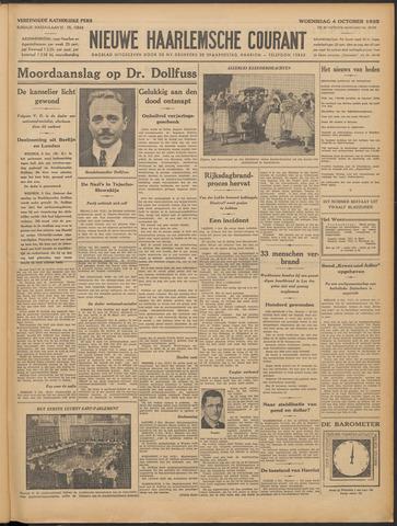 Nieuwe Haarlemsche Courant 1933-10-04