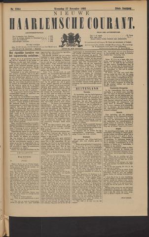 Nieuwe Haarlemsche Courant 1895-11-27