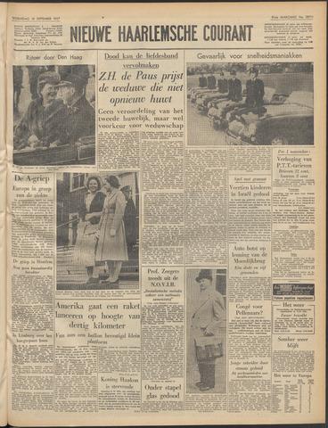Nieuwe Haarlemsche Courant 1957-09-18