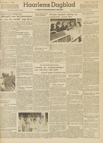 Haarlem's Dagblad 1950-01-09