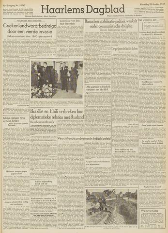 Haarlem's Dagblad 1947-10-22
