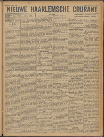 Nieuwe Haarlemsche Courant 1921-06-25