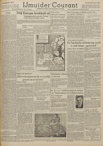 IJmuider Courant 1948-02-28