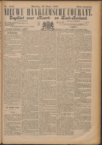 Nieuwe Haarlemsche Courant 1905-03-20