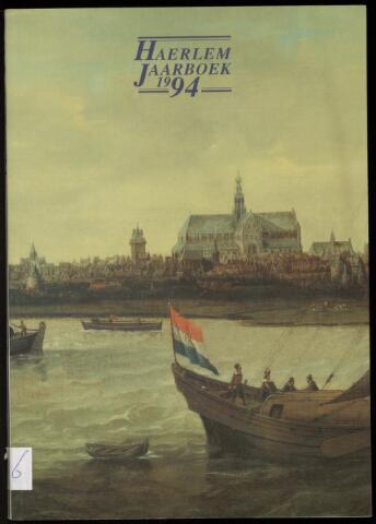 Jaarverslagen en Jaarboeken Vereniging Haerlem 1994