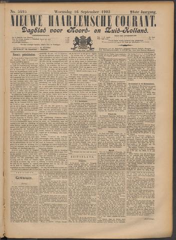 Nieuwe Haarlemsche Courant 1903-09-16
