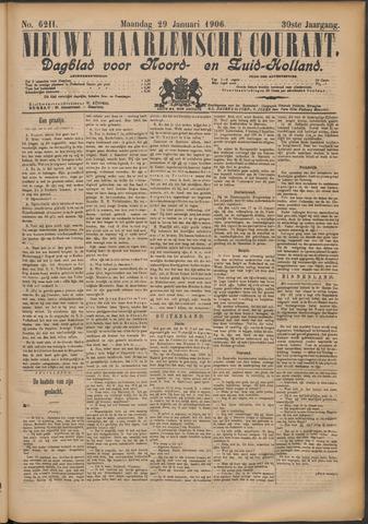 Nieuwe Haarlemsche Courant 1906-01-29