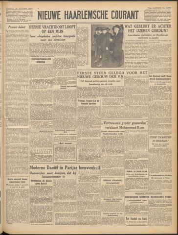 Nieuwe Haarlemsche Courant 1949-10-25