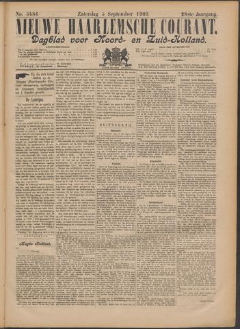 Nieuwe Haarlemsche Courant 1903-09-05