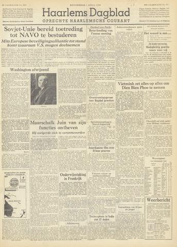 Haarlem's Dagblad 1954-04-01