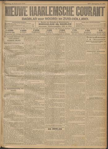 Nieuwe Haarlemsche Courant 1916-02-28