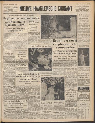 Nieuwe Haarlemsche Courant 1958-02-06
