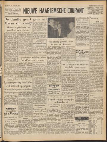 Nieuwe Haarlemsche Courant 1960-01-23