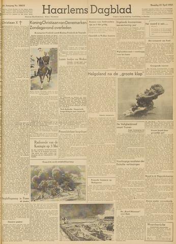 Haarlem's Dagblad 1947-04-21