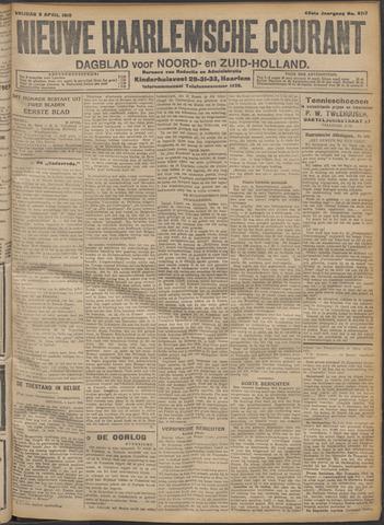 Nieuwe Haarlemsche Courant 1915-04-09