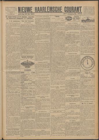 Nieuwe Haarlemsche Courant 1923-05-26