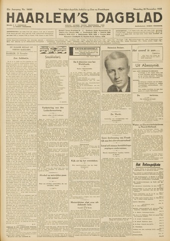 Haarlem's Dagblad 1935-11-25