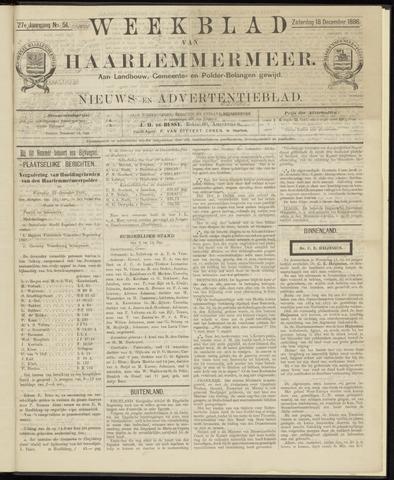 Weekblad van Haarlemmermeer 1886-12-18