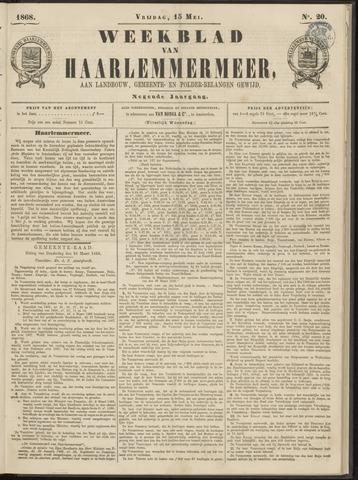 Weekblad van Haarlemmermeer 1868-05-15