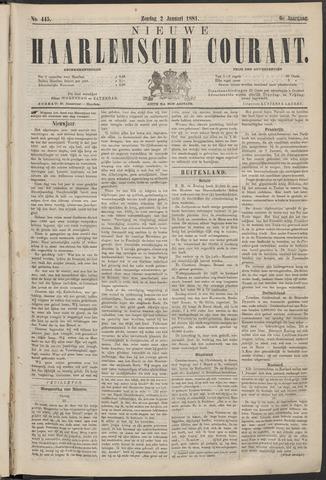 Nieuwe Haarlemsche Courant 1881-01-02